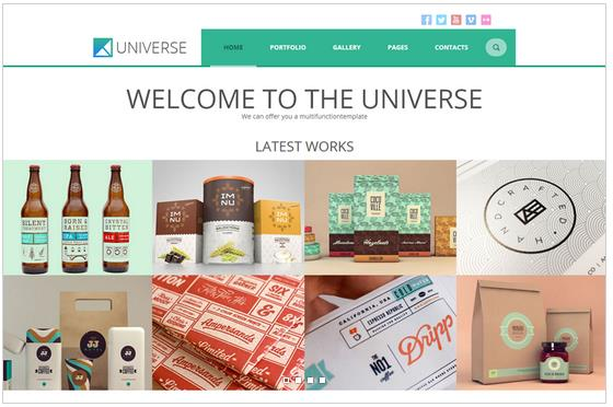 Universe Multipurpose WordPress Theme