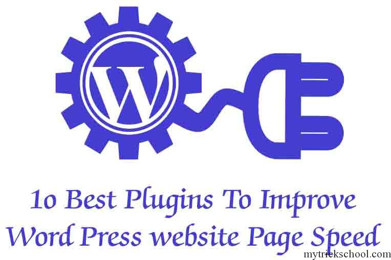 How to Improve your website speed using plugins