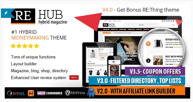 Rehub WordPress Coupon Theme