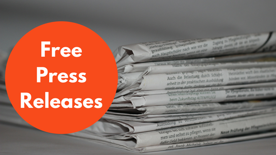 free press releases sites